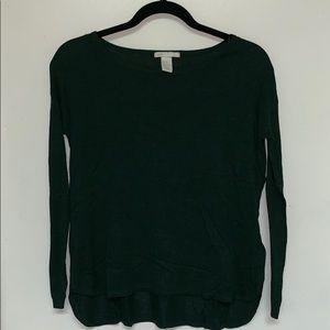 Lightweight Dark Green Sweater